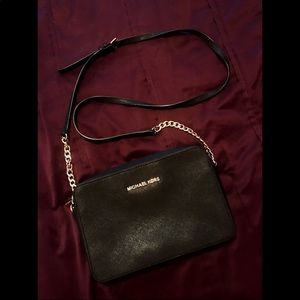 Black Michael Kors Crossbody